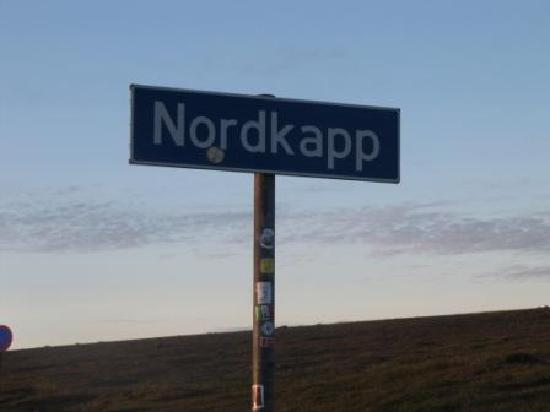 Honningsvag, Norway: Roadsign North Cape