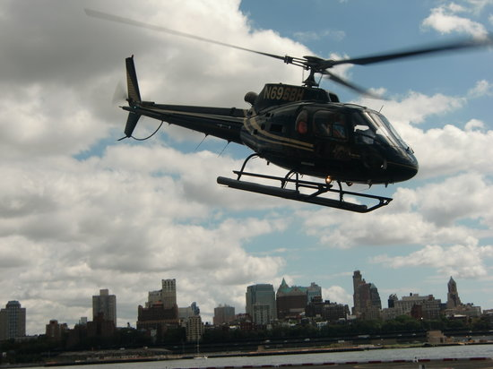 Helicopter Flight Services - Helicopter Tours: One of their helicopters