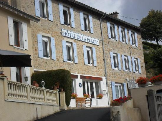 Le Chambon sur Lignon, Francia: hotel de la plage