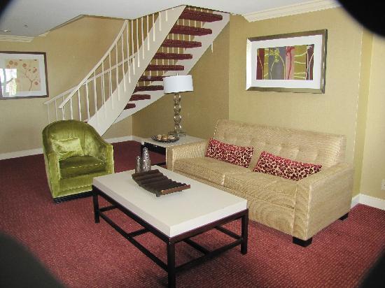 Doubletree Hotel Little Rock: Living Room