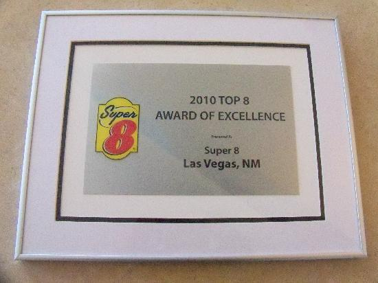 Super 8 Las Vegas : Top 8 Award of Excellence - Selected From 2100+ Super 8's.