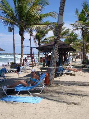 Laguna Mar: Playa del hotel