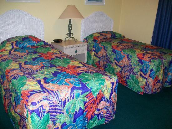 Grand Lake Resort: Comfortable bed