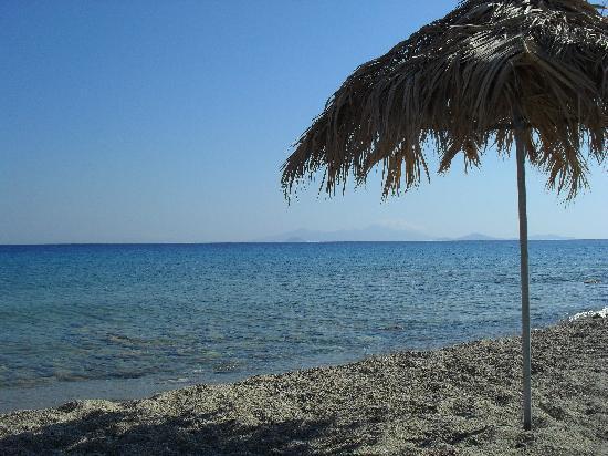 Evripides Village Hotel: The beach