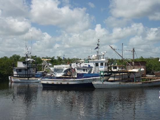 Bilwi, Nicaragua: embarcadero de Lamlaya