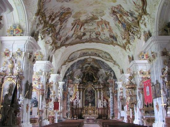St. Georg und Pankratius: interior
