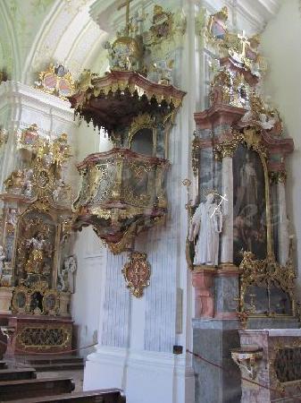 St. Georg und Pankratius: kanzel