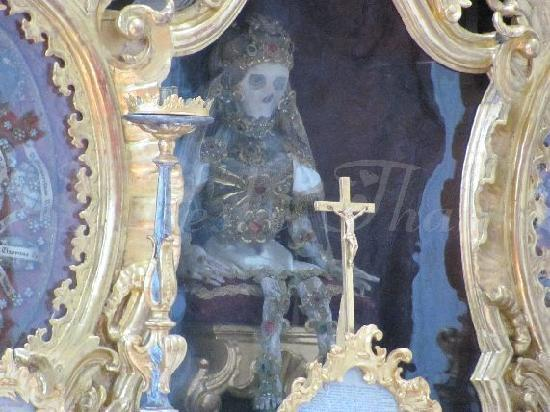 St. Georg und Pankratius: main altar detail
