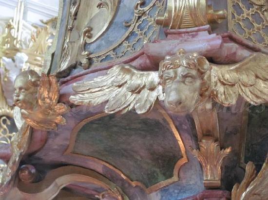 St. Georg und Pankratius: detail kanzel