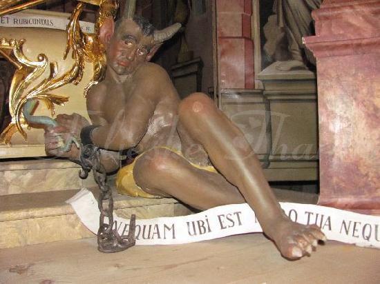 St. Georg und Pankratius: detail