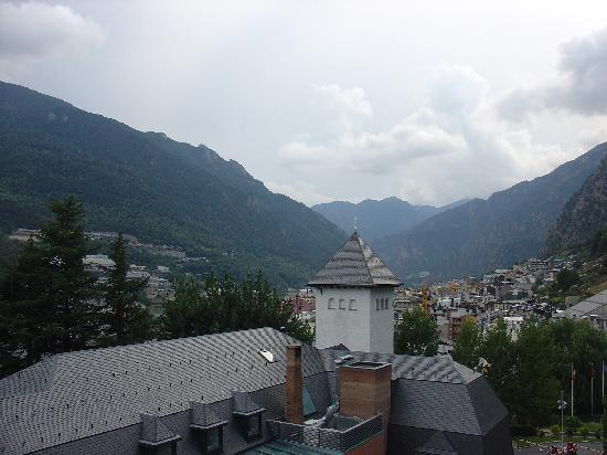 Andorra Park Hotel: view from balcony