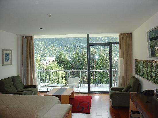 Andorra Park Hotel: My room and view
