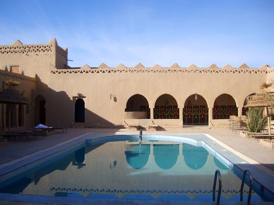 Hassilabied, Marruecos: atlas du sable piscina