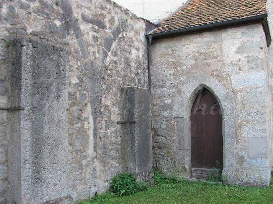 Holy Ghost Church: inner courtyard
