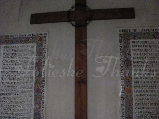 Church of St. James (Kostel sv. Jakuba): plaques