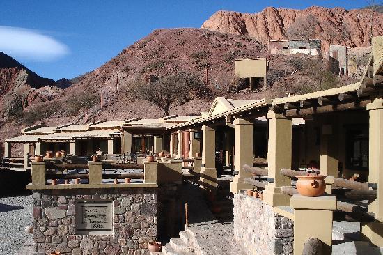 Terrazas de La Posta: Vista del hotel