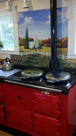 Whetstone Brook Bed & Breakfast: the stove
