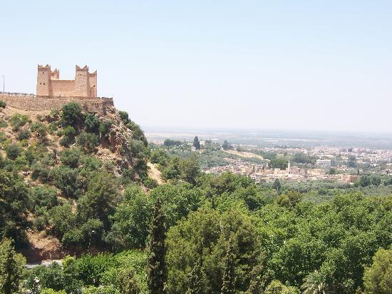 Beni Mellal, Marokko: On the way to the castle