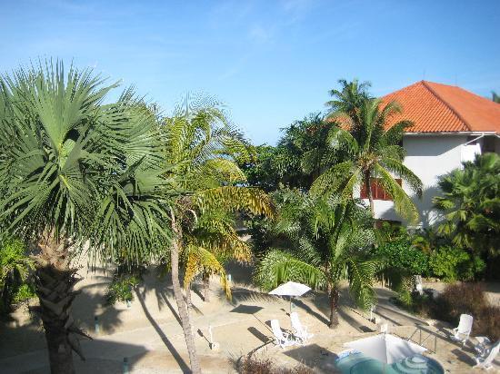 Couples Swept Away: View from Ocean Verandah Suite Room #3313