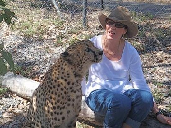 Cairns Wildlife Safari Reserve: the beautiful zeek
