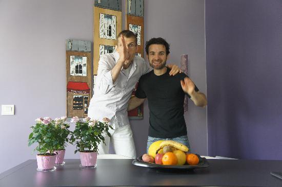 Bed & Breakfast Bouchardon : Charming hosts of BBB
