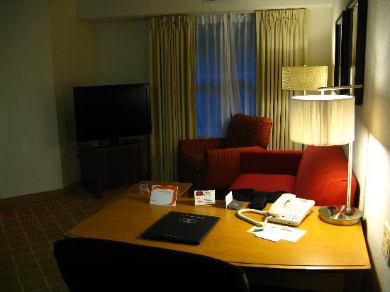 Residence Inn Boston Westford: Living room