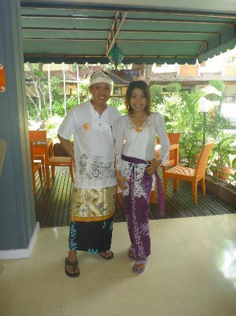 HARRIS Resort Kuta Beach: staff