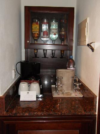 Hotel Riu Palace Cabo San Lucas: mini bar in room