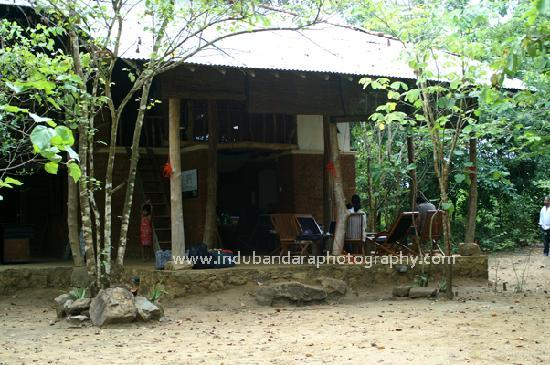Galkadawala Forest Lodge : Approah view