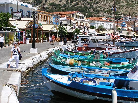 Glicorisa Beach Hotel: Alter Hafen von Pythagorion