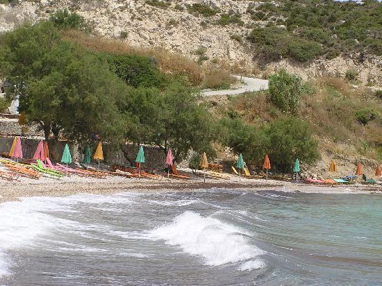Glicorisa Beach Hotel: Sommerlicher Sturm am Strand von Glicoria
