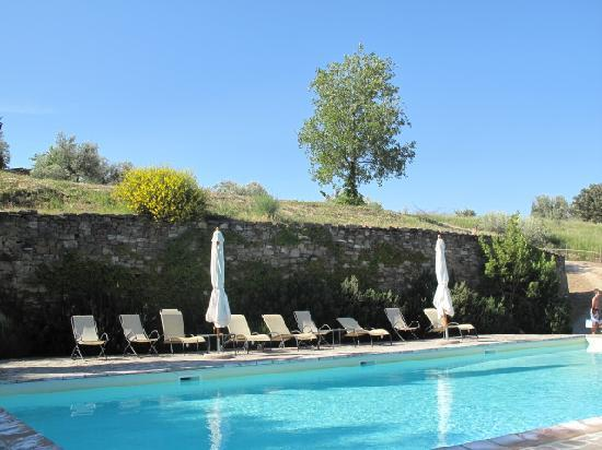 Castello di Gaiche: POOL AREA - STUNNING VIEWS