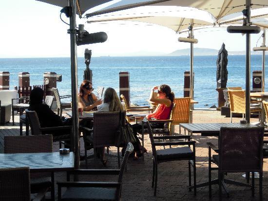 Radisson Blu Hotel Waterfront, Cape Town: Restaurant Terasse