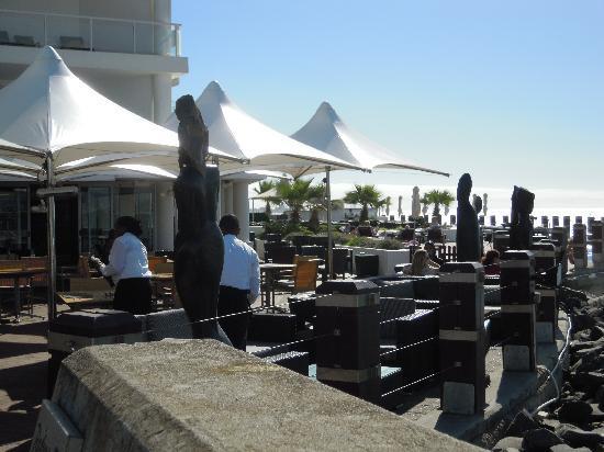 Radisson Blu Hotel Waterfront, Cape Town: Terrasse