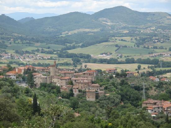 Castello di Gaiche: VIEWS FROM GAICHE OVER FOSCO