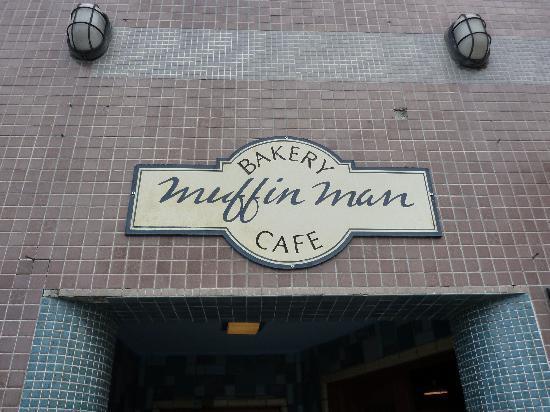 Muffin Man Cafe: Eingang