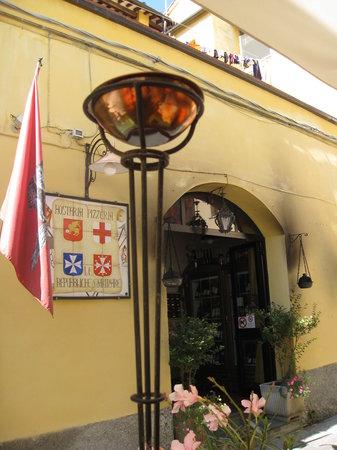Hostaria Le Repubbliche Marinare : The entrance