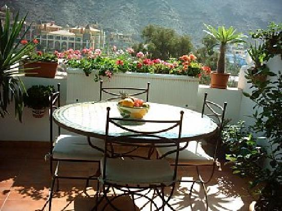 View from our apt in mogan photo de puerto de mogan mogan tripadvisor - Pension eva puerto de mogan ...