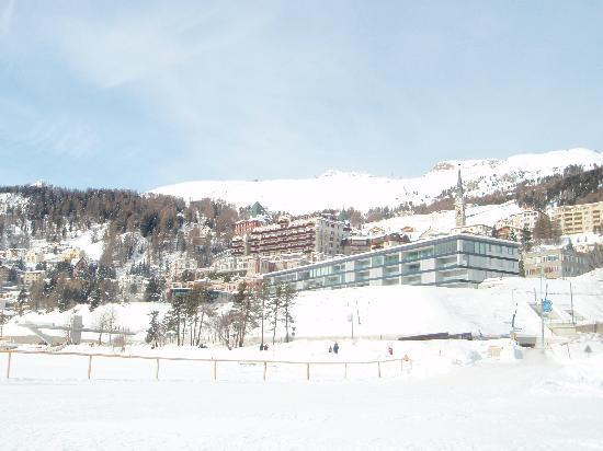 St. Moritz, Zwitserland: See