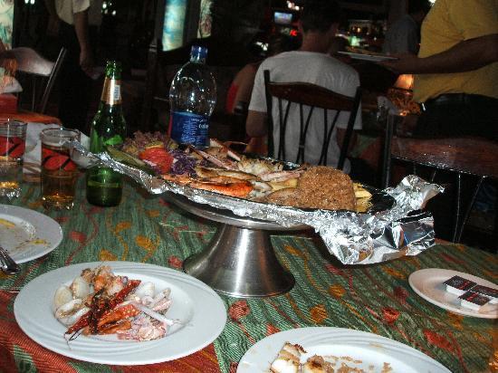 Layaly kan zaman: Great mixed fish dish