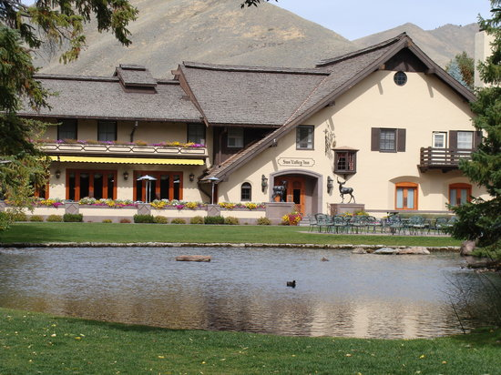 Exterior of the Sun Valley Inn