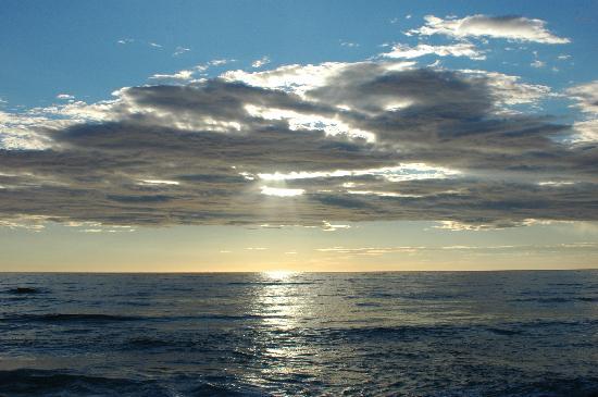 Palinuro, Italien: tramonto da lido la torre