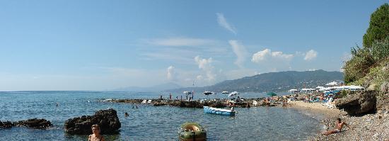 Palinuro, Italien: spiaggia lido di ficocella
