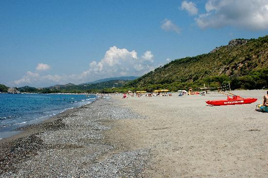 Palinuro, Italien: spiaggia malibea