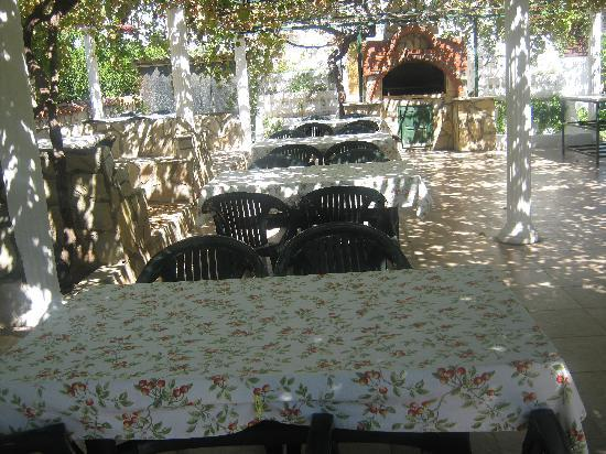 Mehtap Hotel Dalyan: Breakfast area