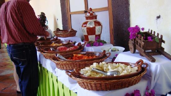 Fiesta Americana Hacienda Galindo: Desayuno Buffet delicioso!!