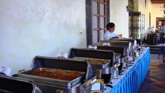 San Juan del Rio, Mexico: Desayuno Buffet
