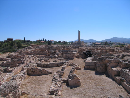 Archaeological Site of Kolona: Ancient Aegina Temple of Apollo