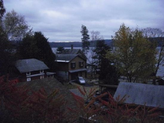 Trout House Village Resort: View from our porch.