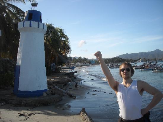 Hotel Patrick: The beach 20m away :D